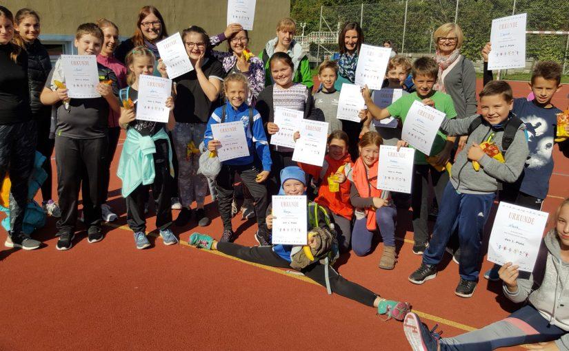 Sporttag mit den Volksschulen Bad Schallerbach und Wallern
