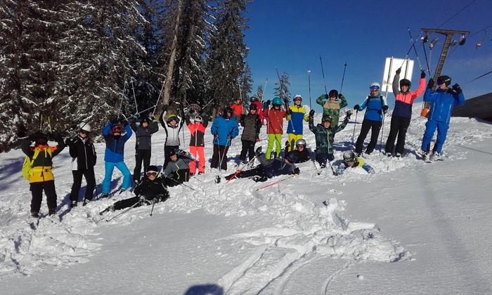 Wintersportwoche